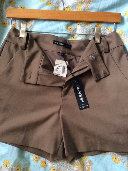 Saks Fifth Avenue Shorts Light brown/beige Image 3