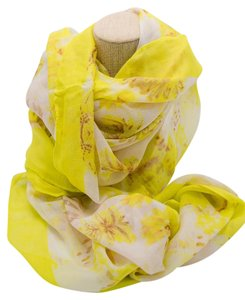 Stella & Dot Stella & Dot Palm Springs Scarf in Citrine Floral