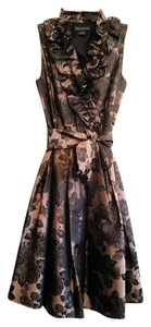 Jessica Howard Floral Formal Cocktail Party Holiday Dress