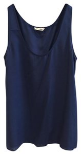 American Vintage Silk Top Blue
