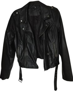 Modcloth Biker Vegan Motorcycle Jacket
