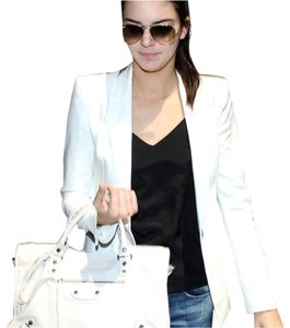 Balenciaga Tote in white