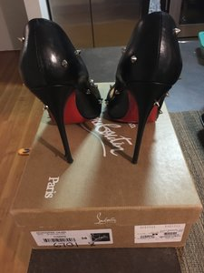 Christian Louboutin Degraspike Spike Stiletto Kid black Pumps