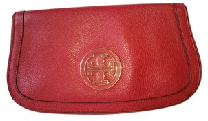 Tory Burch RedLeather Clutch