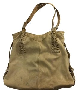 B. Makowsky Tote in Tan