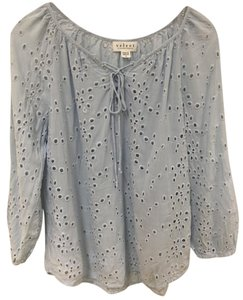 Velvet by Graham & Spencer So Cal Boho Top Blue