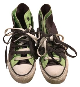 Converse Multi Colored Grey Green Athletic
