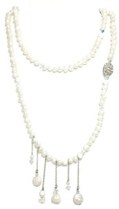 Kinley Pearl Wrap Kinley Necklace with Crystal Skull