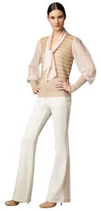 Tory Burch Trouser Pants Ivory