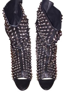 Christian Louboutin Guerilla Black Studded Boots