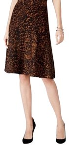 Alfani Skirt Black Brown