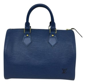 Louis Vuitton Epi Tote in blue