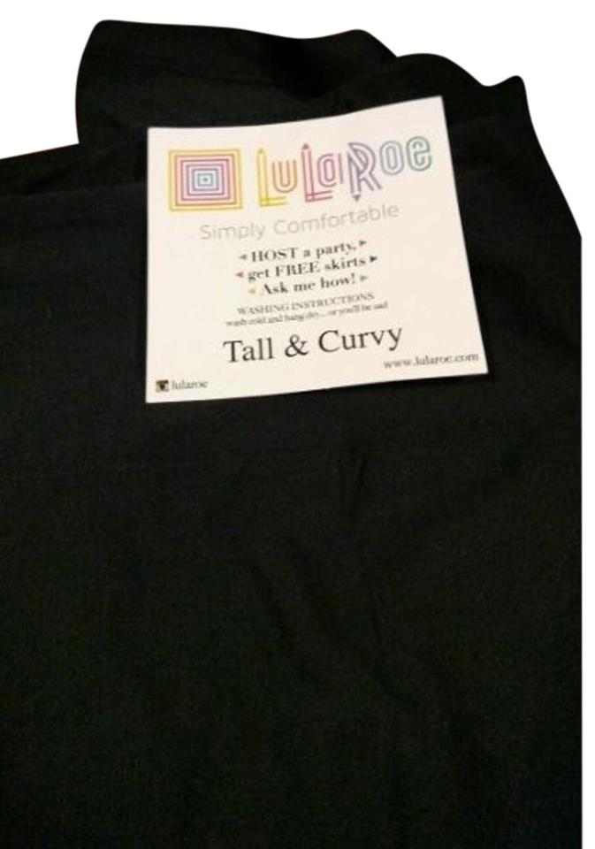 09615c1720f5a LuLaRoe Black Solid Tc Htf. Very Rare Fits 12-20. Leggings Size 16 ...
