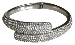 Michael Kors Bypass Pave Crystal Bangle