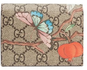 Gucci Brand new GUCCI Printed coated-canvas wallet