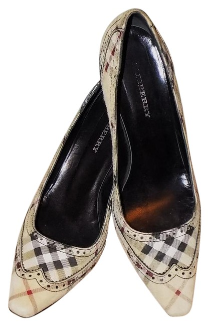 Item - Multicolor Nova Check Pumps Size US 8 Regular (M, B)