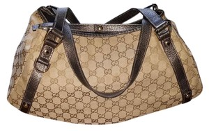 Gucci Satchel in Brown/Black Handles