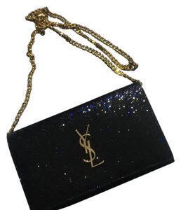 Ysl sunset monogram sparkle chain wallet Shoulder Bag