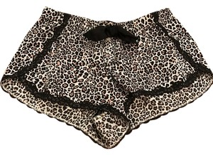 Victoria's Secret Drawstring Pajama Sleep Shorts Leopard