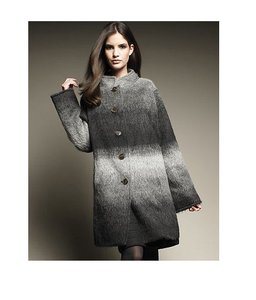 Tory Burch Mohair Darcy Pea Coat