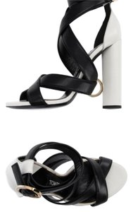 Tom Ford Black white Sandals