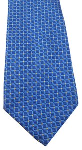 Tiffany & Co. Tiffany & Co. Blue Silk Tie