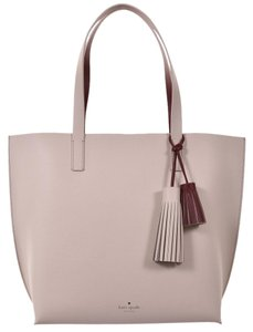 Kate Spade Tote in burgundy/cream