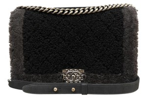Chanel Medium Le Boy Black Shoulder Bag