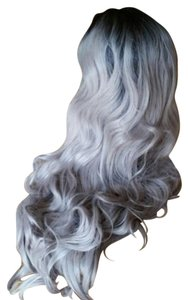 Other Ombre Gray Beauty Lacefront Wig 22-26 inches!!