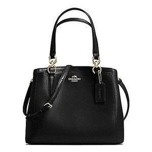 Coach Crossbody Tote Satchel in Black