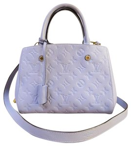Louis Vuitton Lv Empreinte Montaigne Bb Satchel in powderblue
