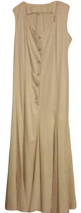 White Maxi Dress by Byblos Sleeveless Classic