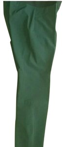Theory Skinny Pants hunter green