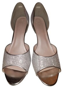 Davids bridal shoes Silver Formal
