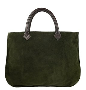 My Style Bags Suede Linen Casual Travel Shoulder Bag