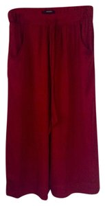 Forever 21 Capris Cranberry red