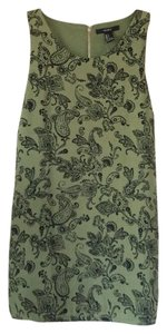 Forever 21 short dress Olive with black paisley design on Tradesy