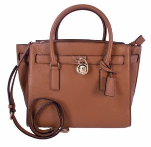 Michael Kors Hamilton Traveler Satchel in Luggage