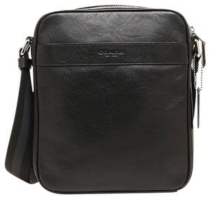Coach Men's Smooth Leather Flight Cross Body Bag