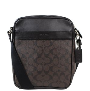 Coach Signature Men's Flight Cross Body Bag