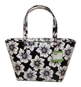 Kate Spade Coated Canvas Pxru6895 Tote in Black Multi
