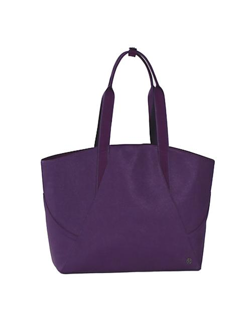 Item - Women's All Perfect Gym To Office Purple Polyester Tote