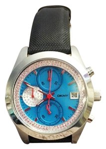 DKNY Teal Dial Chronograph Watch NY1303