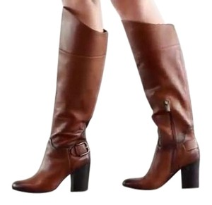 Vince Camuto Over The Knee Cognac Boots