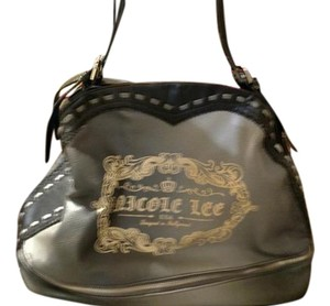 Nicole Lee Satchel in Black/gray