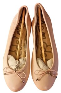 Sam Edelman Leather Silver Vintage Pink Flats