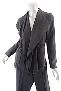 Marc Cain MARC CAIN Black Triacetate Blend Fashion Anorak Pantsuit