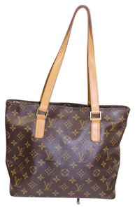Louis Vuitton Lv Cabas Piano Shoulder Bag