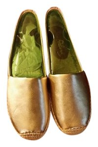 Sam Edelman Flat Couture Metallic Gold Flats