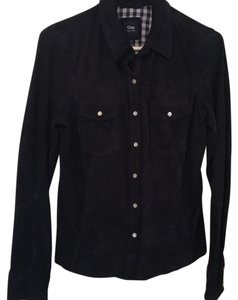 Gap Button Down Shirt Midnight Blue